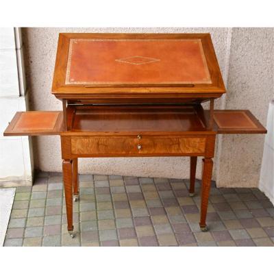 Table à La Tronchin En Noyer Fin XVIIIème