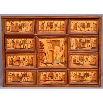 Cabinet De Voyage Allemand XVIIème