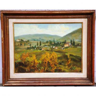 """""""paysage Italien """" De A. Niccolai"""
