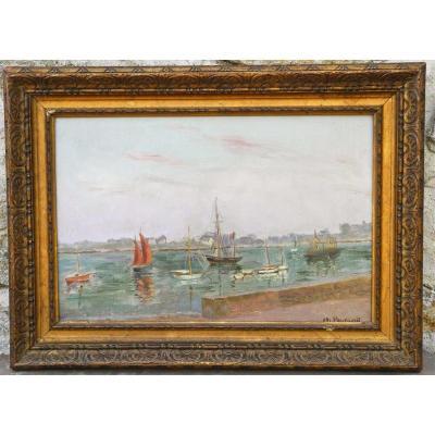 Peinture Marine XIXème de Charles Peyrard