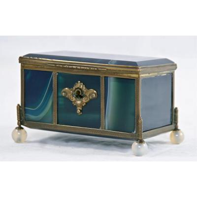 Grand Box XIX In Blue Agate