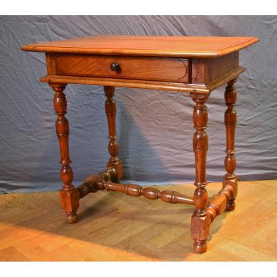 Table Bureau Louis XIV En Merisier