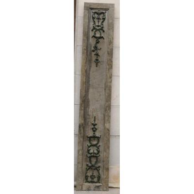 Panneau De Bois Sculpté XVIIIème