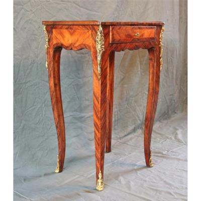 Louis XV Style Flying Table In Veneer