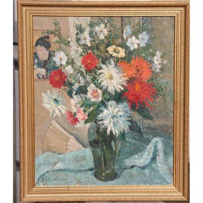 """""""Bouquet de Fleurs"""" De Gabriel Charlopeau"""