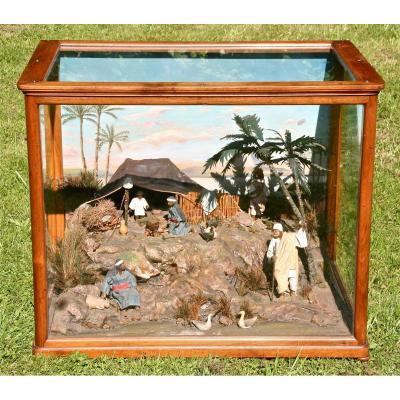 Diorama XIXth Egyptian Scene