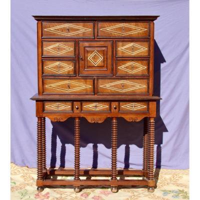 Cabinet d'époque Louis XIV En Fruitier