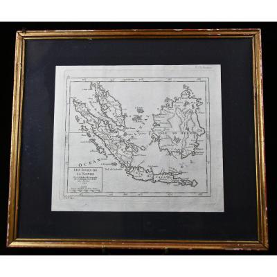 Carte XVIIIème De Borneo