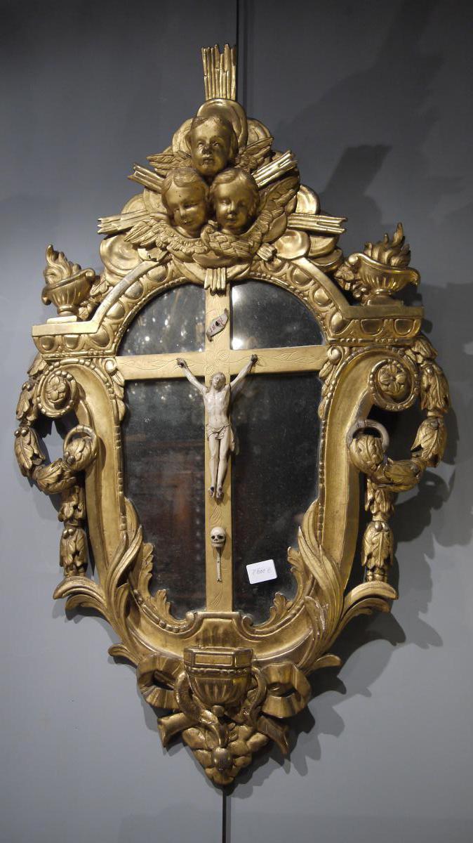 Christ En Ivoire époque Louis XIV
