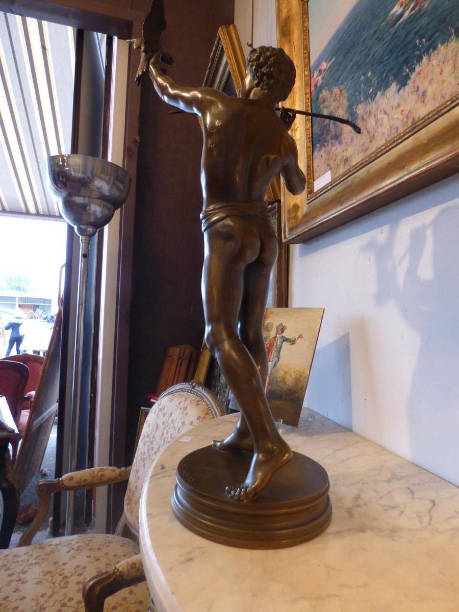Bronze l'Oiseleur