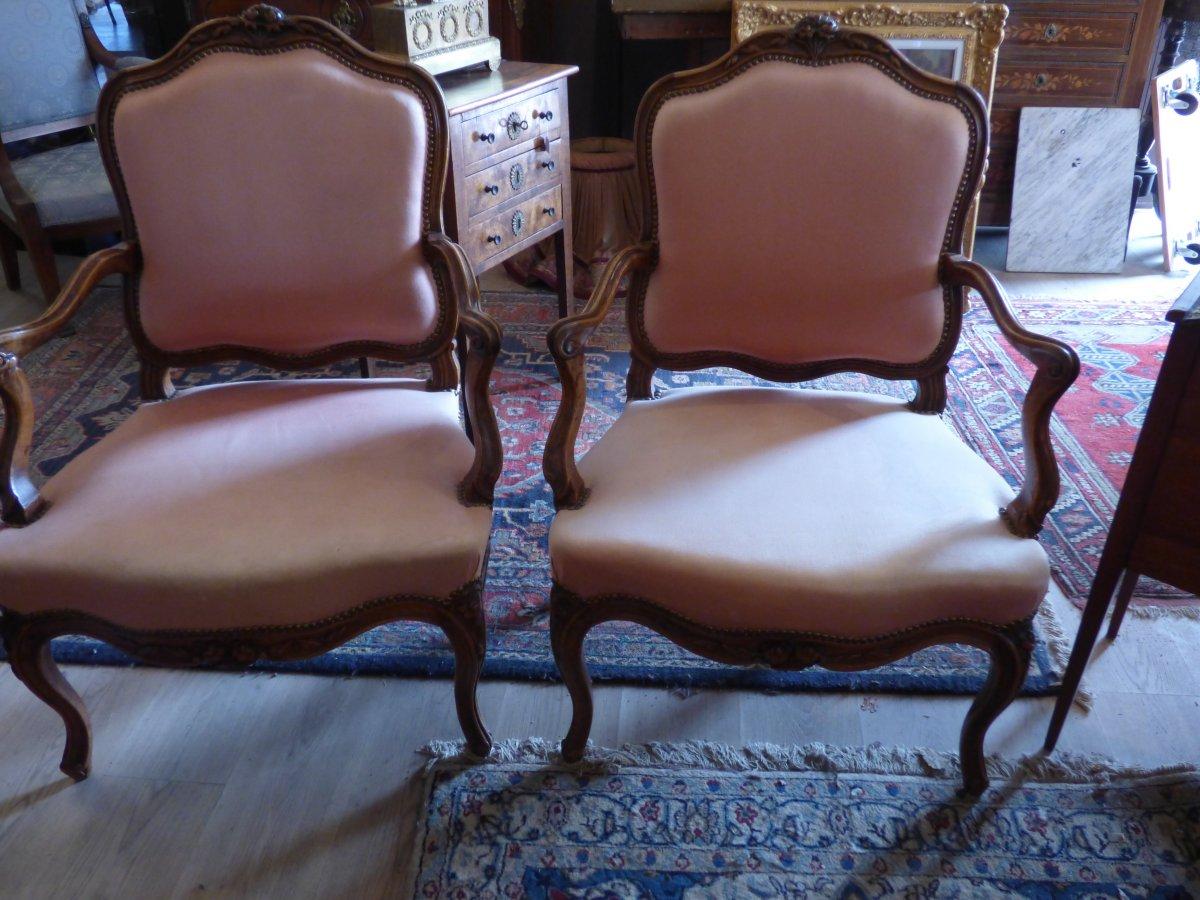 Paire De fauteuils 18 Eme