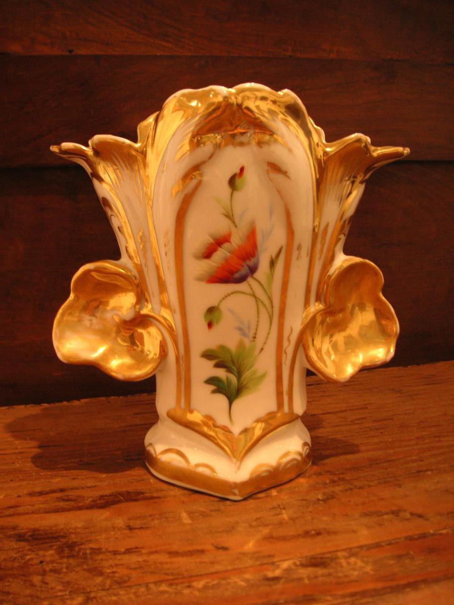 Porcelaine de Paris:vase /milieu 19 ème