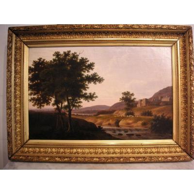 Tableau 1ère moitié du XIXème siècle /huile sur toile non signée