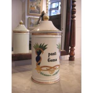 Pot à pharmacie / Limoges  années 1950