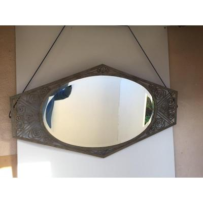 Miroir Fer Forgé Art Déco