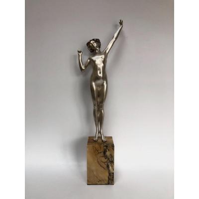 Bronze Art Déco [ L'eveil ] Par Paul Philippe