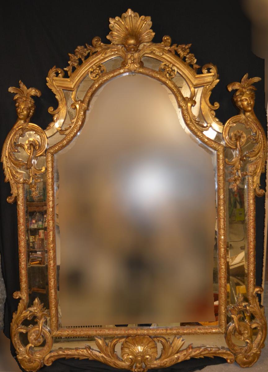 Miroir à Parcloses