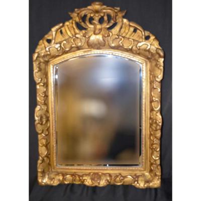 Miroir Louis XIV Avec Fronton