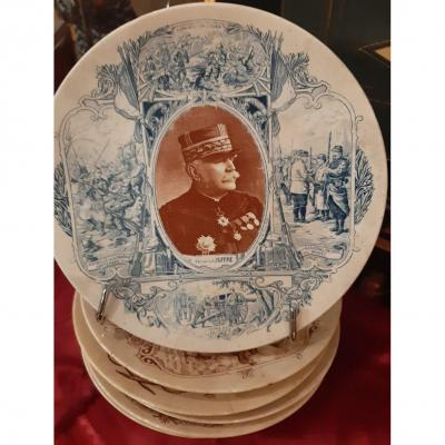 Historical Plate Of Great Men