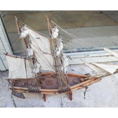 Very Beautiful Model Of Sailboat