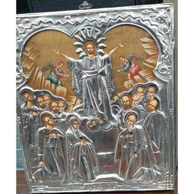 Russian Icon The Resurrection Of Christ