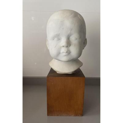 Lucien Schnegg (1864-1909). Practitioner Of Rodin. Museum. Child.