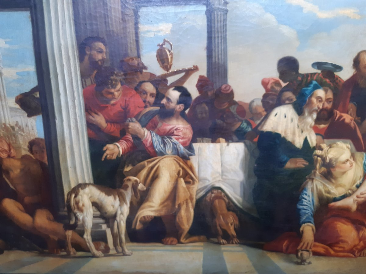 Large Painting After Veronese