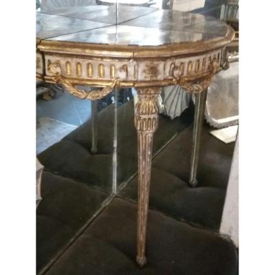 Console d'Angle Italie XVIII Eme