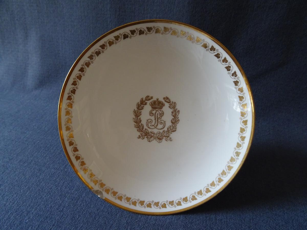 Coupe du service des Princes du Roi Louis Philippe