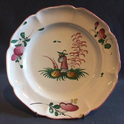 Lunéville Chinese Plate XVIII