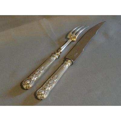 Cutlery Cutlery Emblazoned In Silver