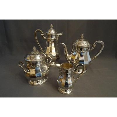 Tétard Frères Solid Silver Tea And Coffee Service