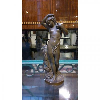 Naked Woman In Bronze
