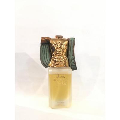 Miguel Berrocal: Parfum Surmonté D'une Sculpture En Bronze Patiné Et Doré 24k Boîte D'origine
