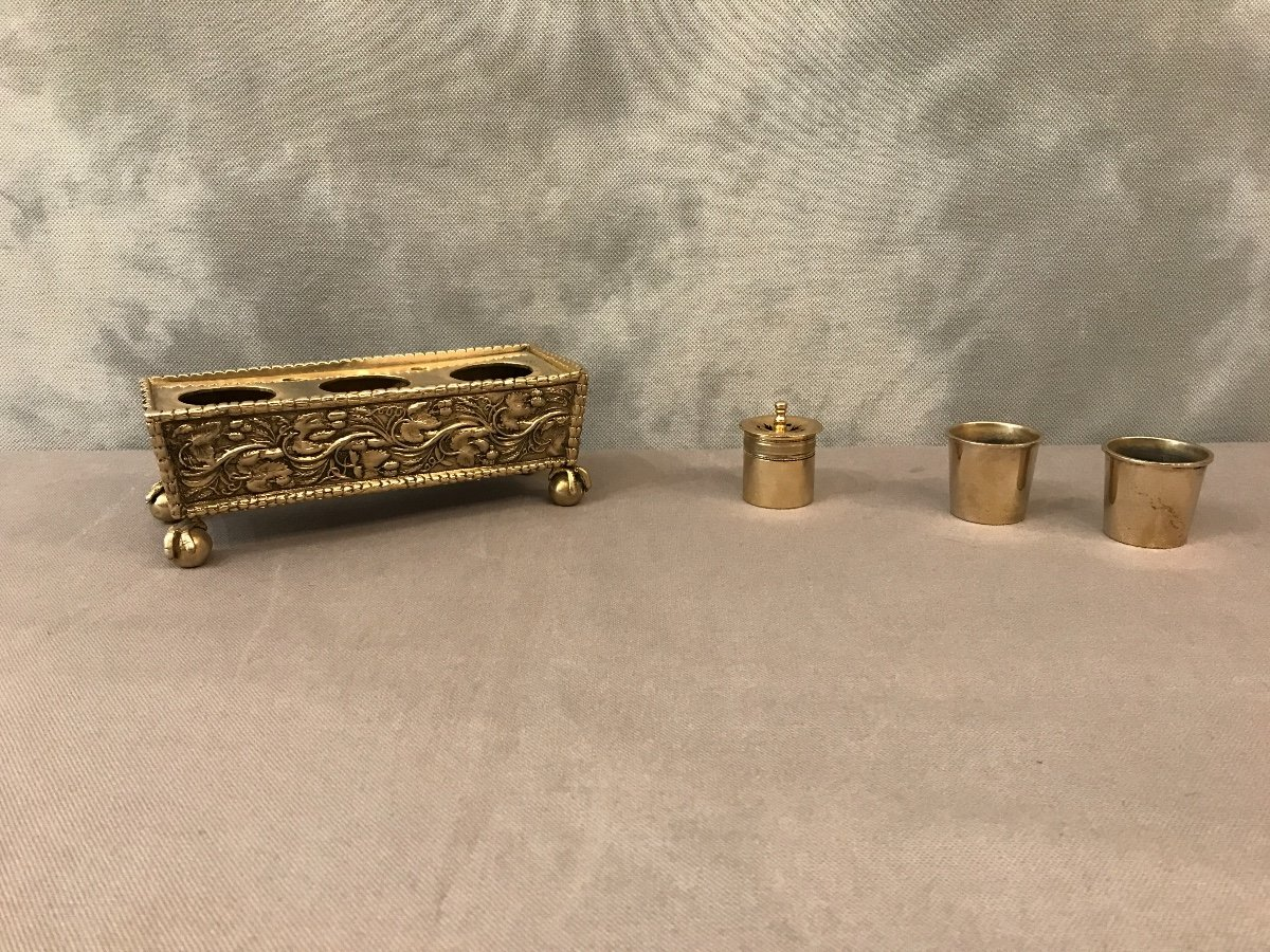 Inkwell Bronze Napoleon III-photo-3