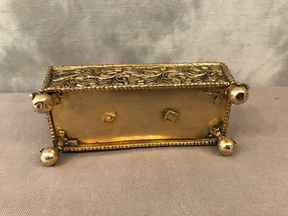 Inkwell Bronze Napoleon III-photo-4