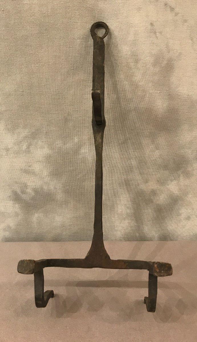 19th Century Wrought Iron Bread Grid-photo-1