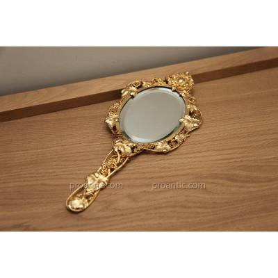 Beautiful Mirror Travel Gilded 19th Time