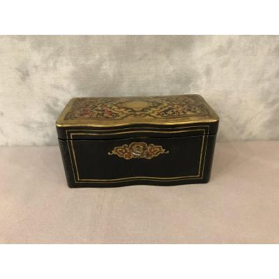 19th Napoleon III Ball Tea Box