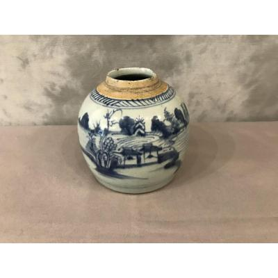 19th Century Earthenware Ginger Pot