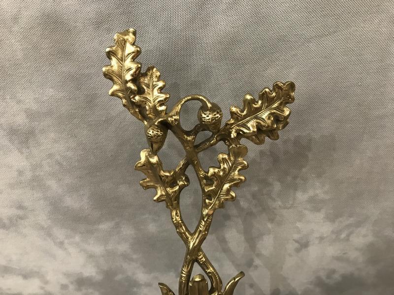 Barre De Foyer En Bronze Louis XV 19 ème-photo-2