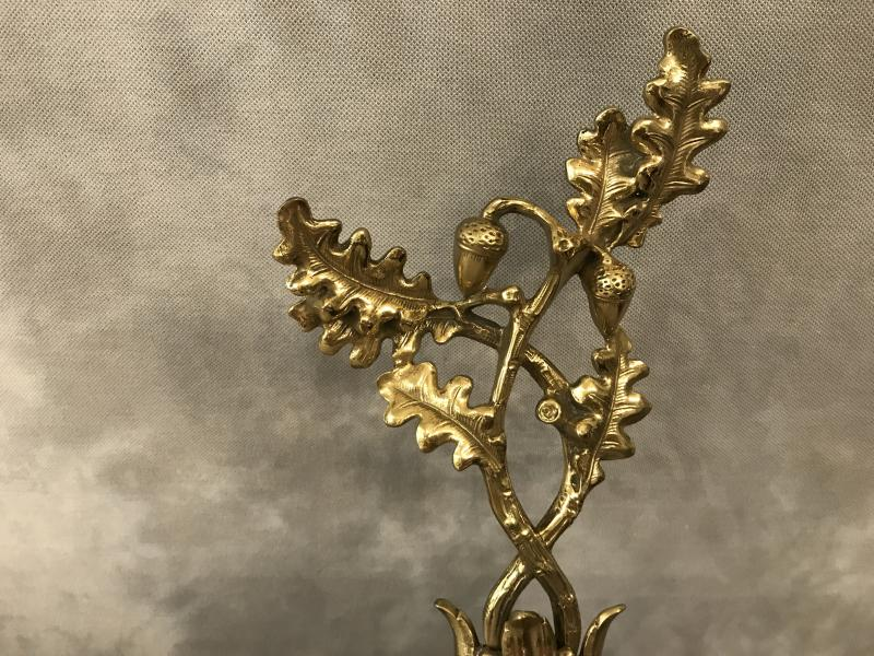 Barre De Foyer En Bronze Louis XV 19 ème-photo-4