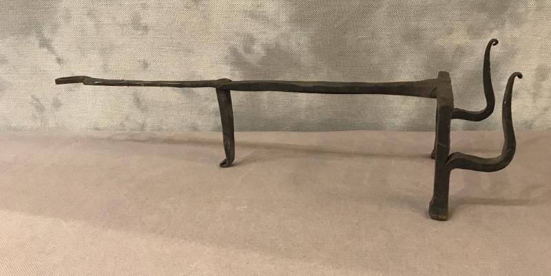 19th Century Wrought Iron Bread Grid-photo-3