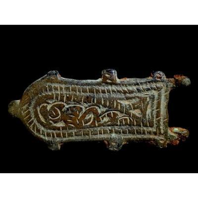Boucle Wisigothique Bronze VI - VIII éme Siécle