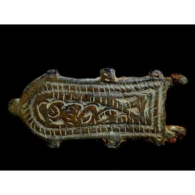 Visigothic Buckle Bronze VI - VIIIth Century