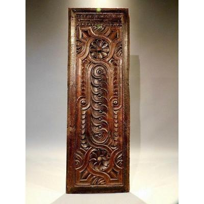 Carved Wood Panel 17th Century