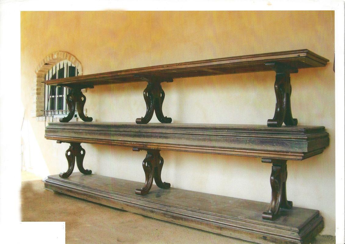 Paire de Tables de Drapier/Soyeux en Acajou Massif