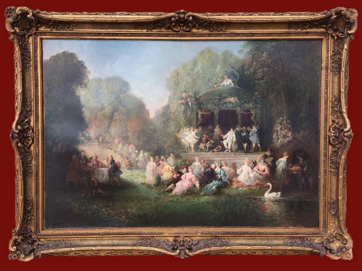 Paul DENARIE  - La Fête chez Thérèse par Victor HUGO