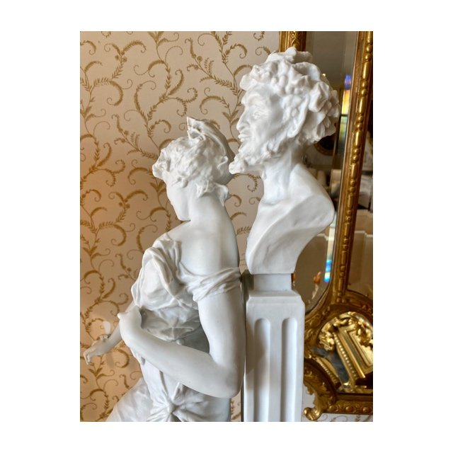 Gaudenzio Colombo - Biscuit, Satyr And Bacchante-photo-3