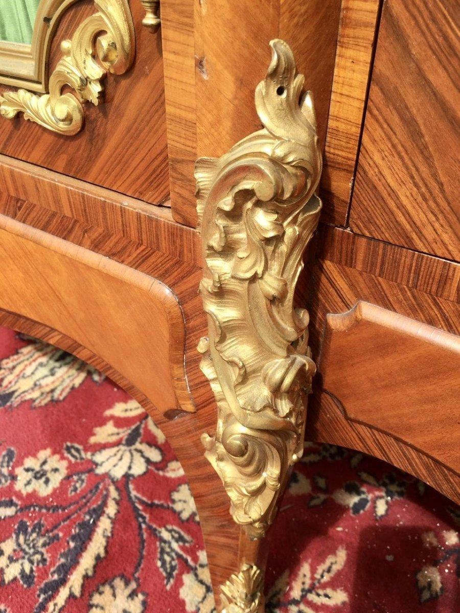 P. Sormani - Marquetry & Bronze Bookcase-photo-4